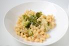 Макароны с сыром и брокколи