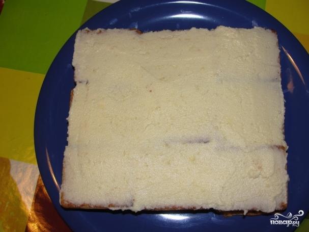 Торт слоями слой печенья слой