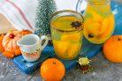 Зимний мандариновый напиток