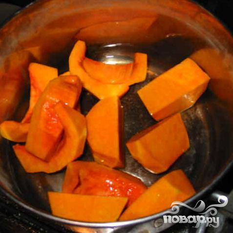 Летний суп из тыквы и апельсинов
