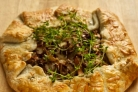 Тарт с лисичками