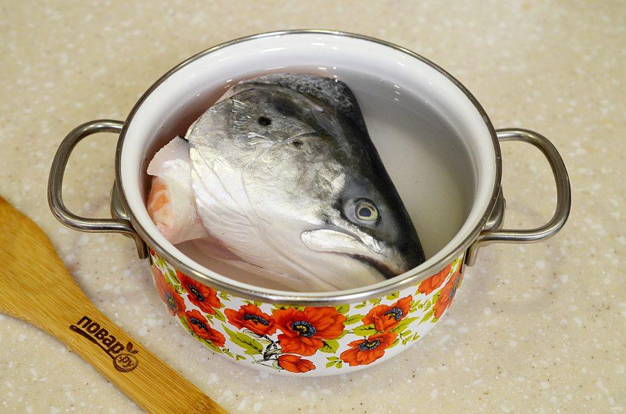 Рыбная солянка из форели