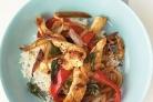 Жаркое из курицы с базиликом