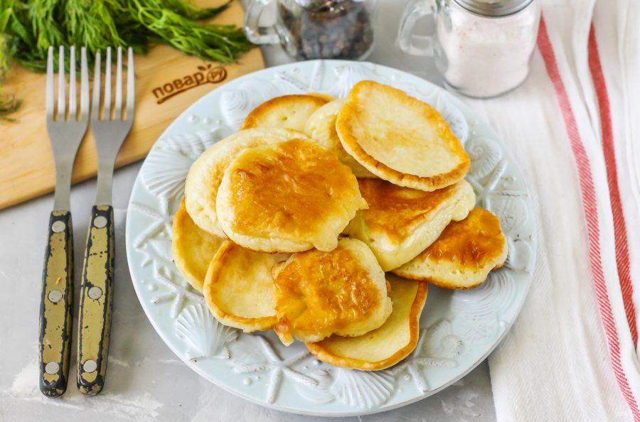 Оладушки на завтрак