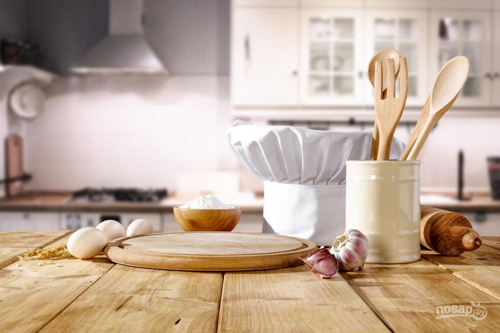 Кухня и поварский колпак