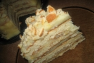 Торт на сковороде с творогом