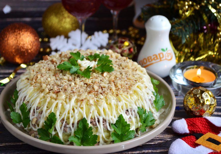 новогодние салаты рецепты с картинками продаже