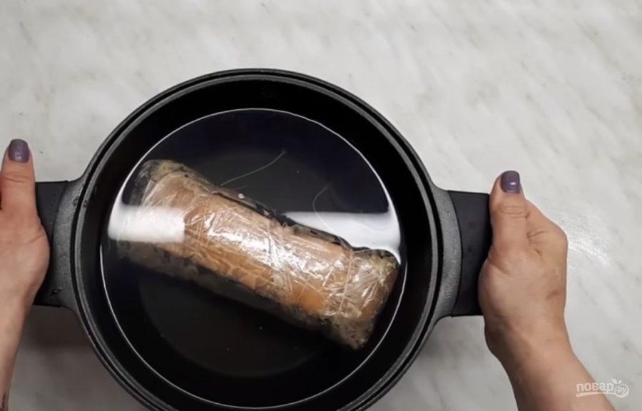 Сало вареное закусочное