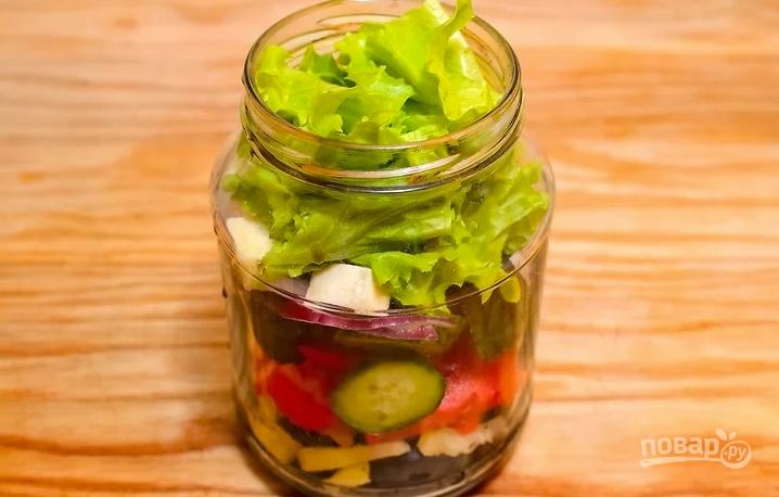 Простой рецепт греческого салата