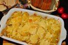 Сытная мясная запеканка с картофелем