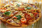Пицца на слоеном бездрожжевом тесте