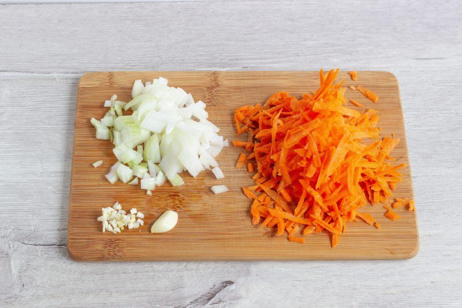 Картофельно-морковная запеканка с брокколи