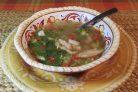 Суп из крыла индейки
