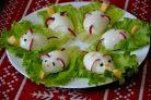 Фаршированные яйца Мышки