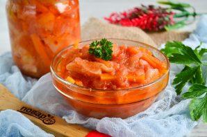 Закуска из перца и моркови на зиму