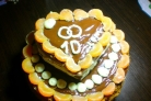 Торт на 10 лет