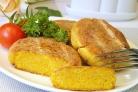 Морковные котлеты с сыром