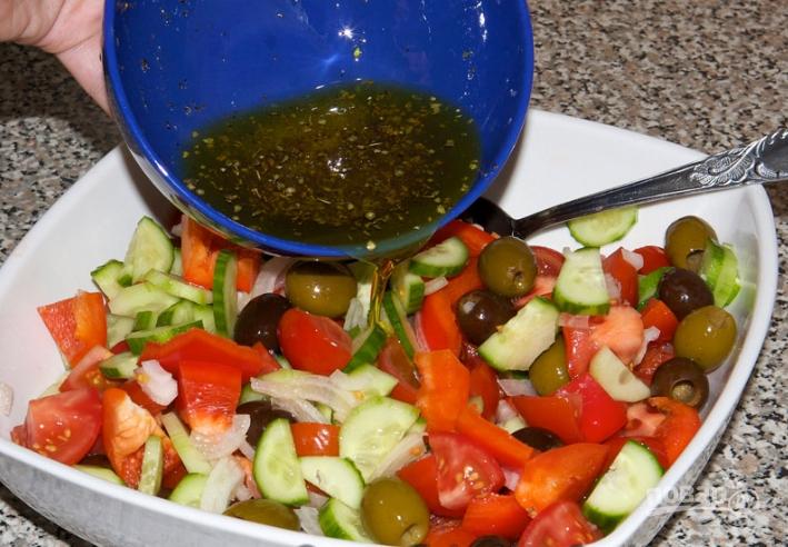 """Греческий салат"" с брынзой"