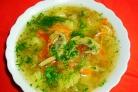 Суп из свежих груздей