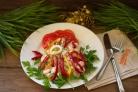 Салат Красный петух