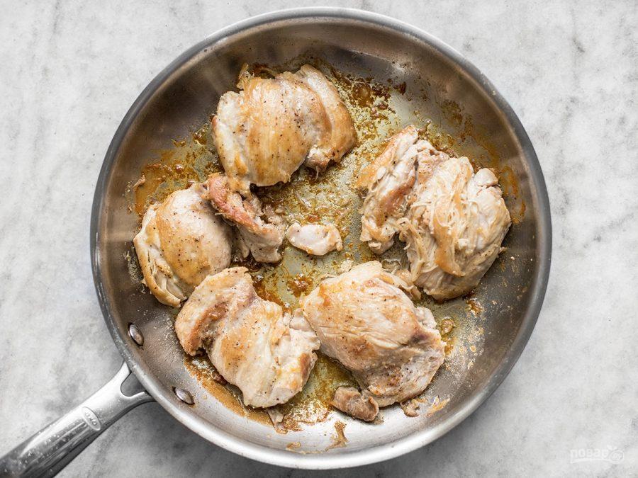 куриные бедрышки рецепты на сковороде с фото