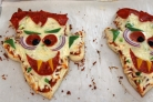 Пицца Дракула на Хэллоуин