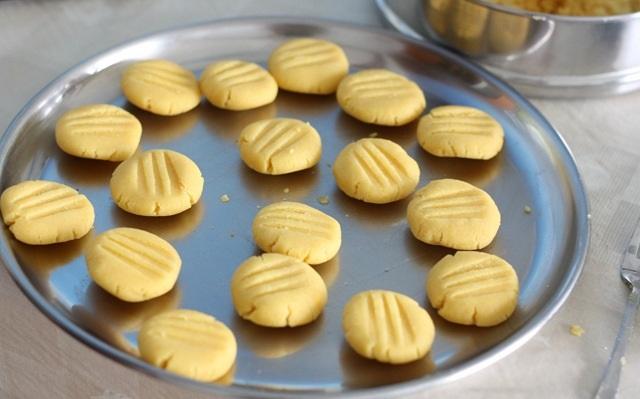 как приготовить песочное печенье без яиц