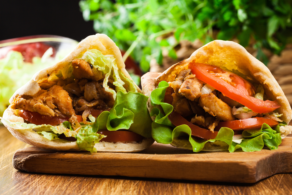 Сэндвич из Турции с пите