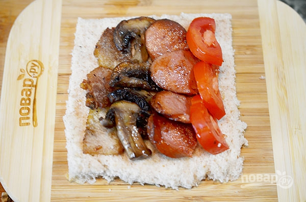 Французские тосты в английском стиле