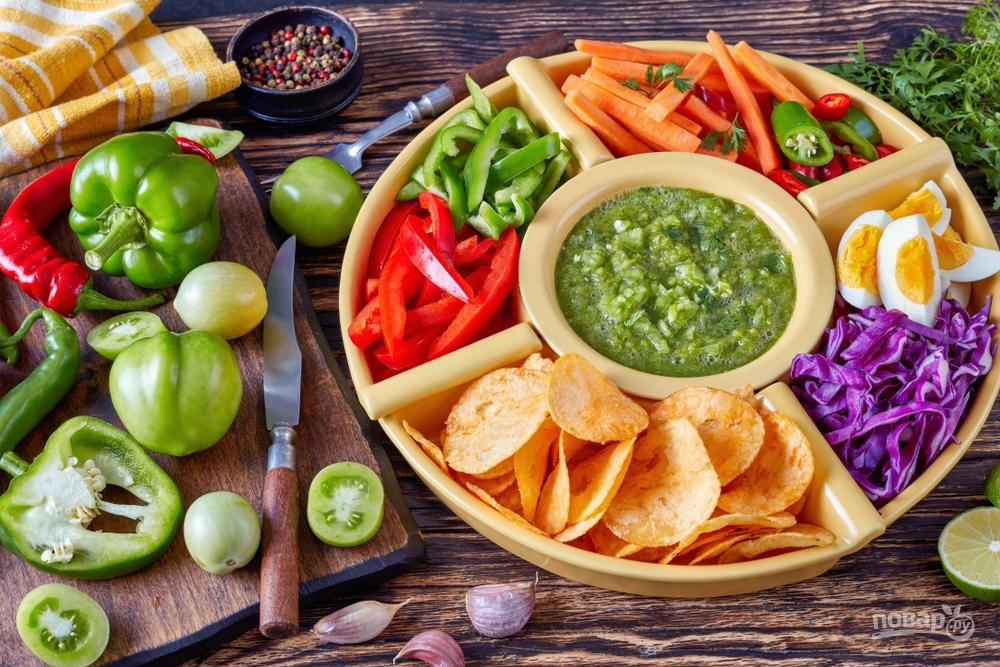 Сборный салат на Новый год
