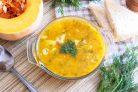 Суп из тыквы, картофеля и моркови