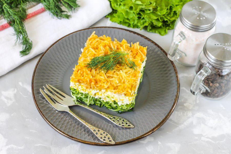 Салат из трех ингредиентов