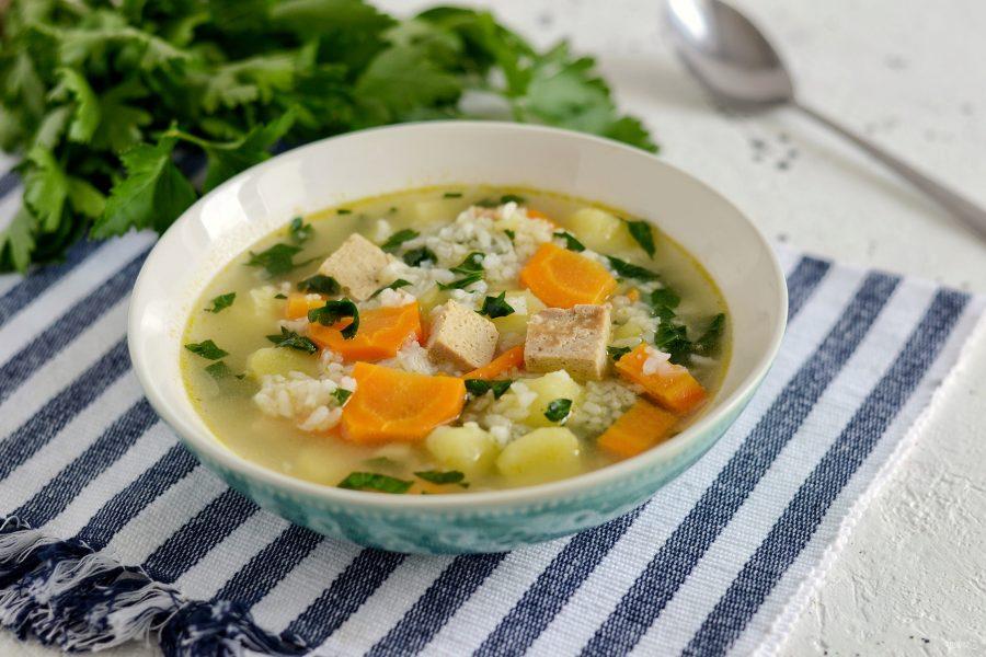 Суп рисовый при диете