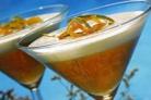 Персиковое пюре с заварным кремом