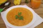 Сыроедческий тыквенный суп