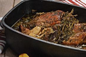 Рецепт Свинина запеченная с грушами