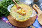 Гороховый суп для диабетиков