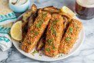 Картофель с рыбой в духовке