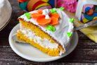 Морковный торт со сливочным кремом