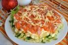 Салат Новогодний из семги