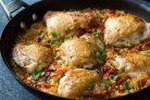 Курица с макаронами по-гречески