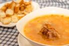 Суп из копченостей