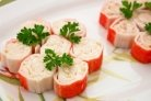 Крабовые палочки с плавленым сыром
