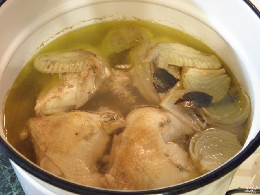 Студень из курицы