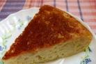 Капустный пирог на кефире в мультиварке