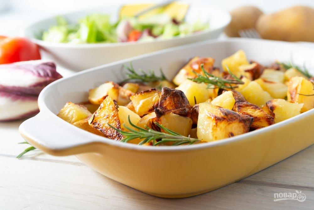 Запеченная картошка с розмарином