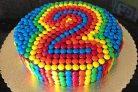 Торт на день рождения мальчику 2 года