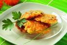 Оладьи из кабачков и моркови