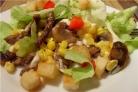 Вкусный салат с опятами