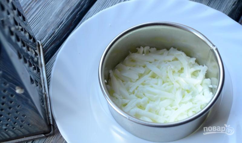 Салат с крабовыми палочками и корейской морковью
